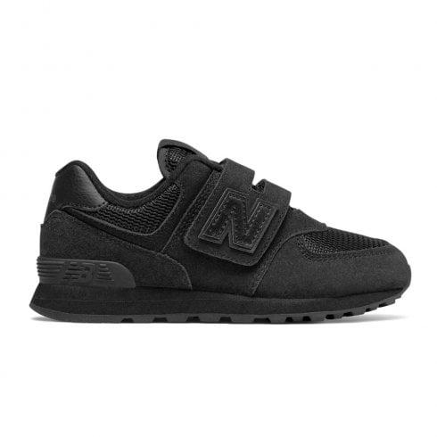32b40cf2f4f76 New Balance Infant 574 Core Velcro Sneakers - Black | New Balance Millars  Shoe Store