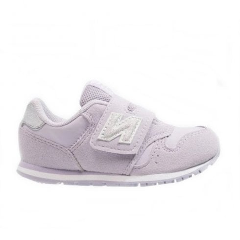 New Balance Infant 373 Velcro Sneakers - Lilac