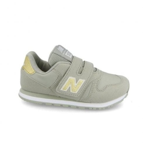 New Balance Infant 373 Velcro Sneakers - Beige Gold