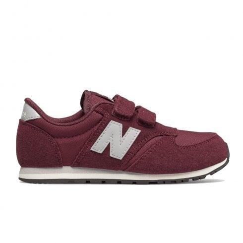 8ce2c900e278d New Balance Kids 420 Velcro Sneakers - Burgundy | New Balance Millars Shoe  Store