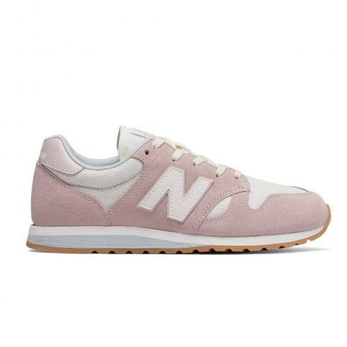New Balance Womens 520 Suede Lace Up Sneakers - Pink