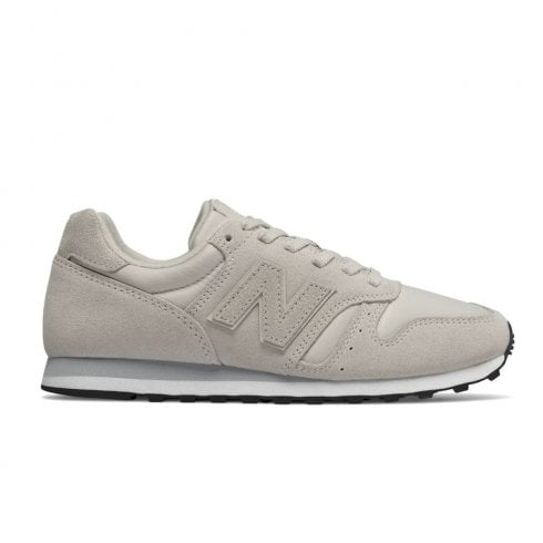 wholesale dealer 73535 cfae5 New Balance Womens 373 Suede Lace Up Sneakers - White Satin