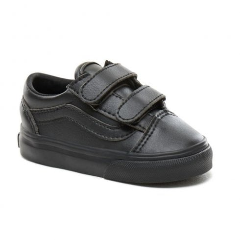 Vans Kids Toddler Classic Tumble Old Skool V Shoes - Black