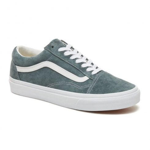 b0d5d57c9ddc Vans Unisex Suede Old Skool Shoes - Grey   Millars Shoe Store
