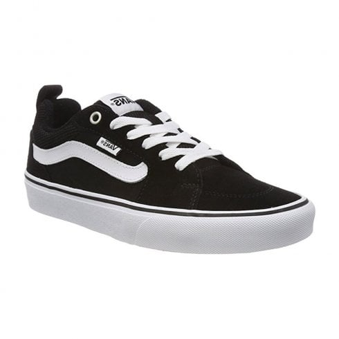 Vans Kids Filmore Suede Trainers Shoes - Black/White