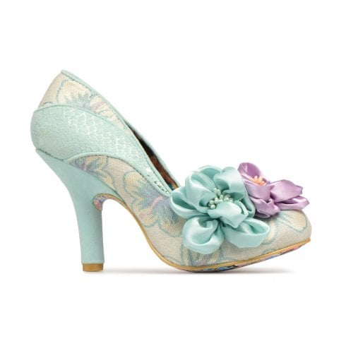 Irregular Choice Peach Melba Mint Flower Court