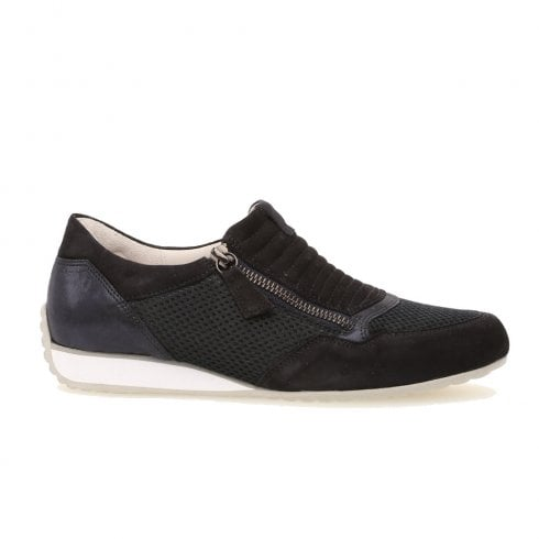 Gabor Brunello Casual Ladies Sports Trainers Shoes - Navy