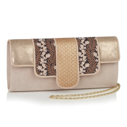 Ruby Shoo Canberra Clutch Bag - Gold