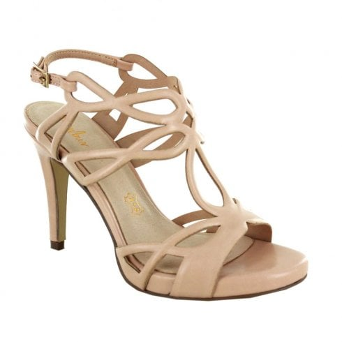 Menbur VILLAGRAZIA High Heel Strappy Sandals - Nude