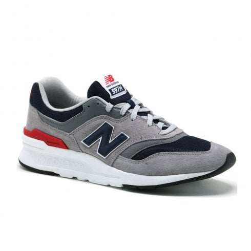 New Balance Men's Classics 997H Suede Sneakers - Grey/Navy