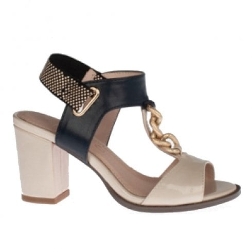 d692e5324ad5 Kate Appleby Northam Malt Bling Slingback Heeled Sandals - Nude combination    Millars Shoe Store