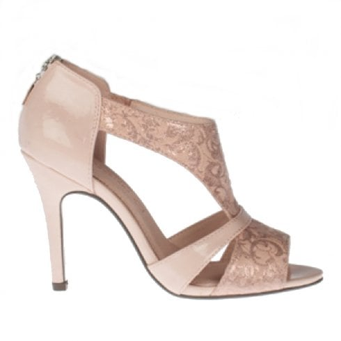 f9c3ab90b Kate Appleby Royal Lady Heeled Sandals - Blush Sparkle   Millars Shoe Store