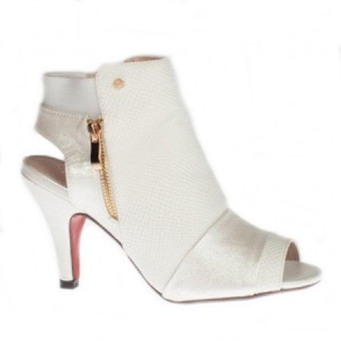 88c095ca8360 Kate Appleby Tiverton Heeled Bootie Sandals - Snow White   Millars Shoe  Store