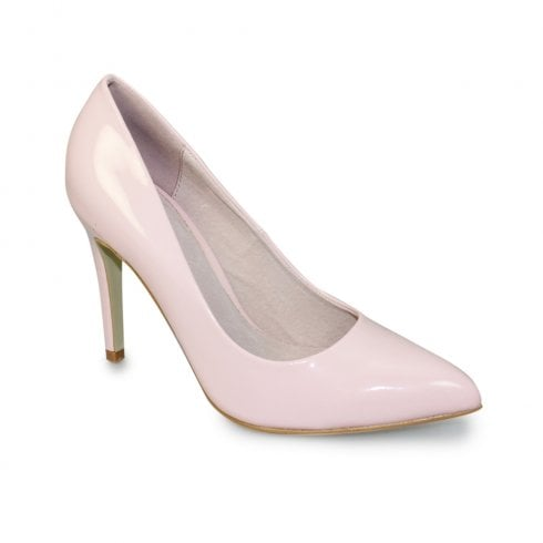 Lunar Powell II Court High Heel Pointed Toe Shoes - Pink