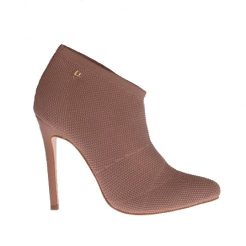 Una Healy 30 Days Stiletto Heeled Bootie Shoes - Pit Pink