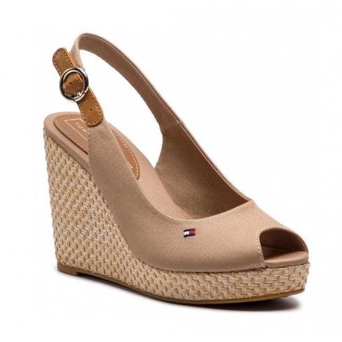 d0760b93da86e Tommy Hilfiger Iconic Elena Wedge Cobblestone - Millars Shoe Store