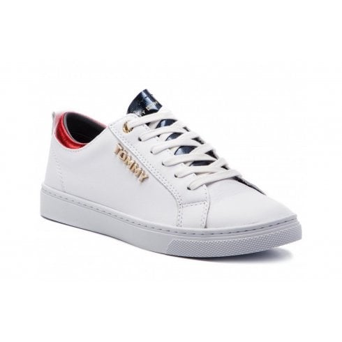 2fde10ce79f Tommy Hilfiger Metallic Detail City Trainers - Millars Shoe Store