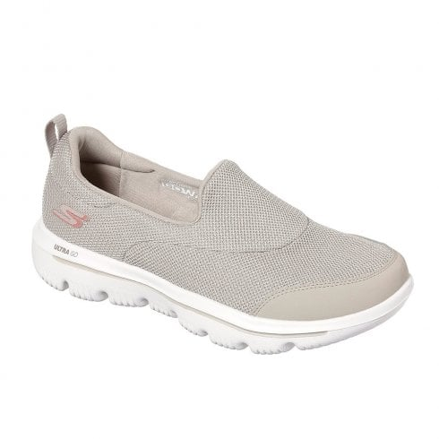 Skechers Womens GOwalk Evolution Ultra Reach Sneakers - Taupe