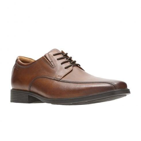 9845dc68a5f79 Clarks Tilden Walk Lace Mens Smart Shoes - Dark Tan Leather / Millars Shoe  Store