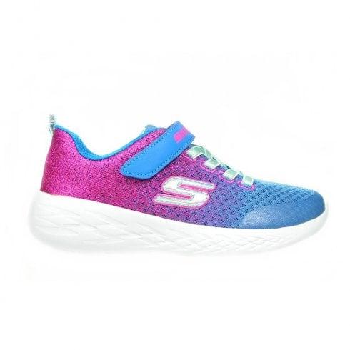 Girls' GOrun 600 blue pink sneakers