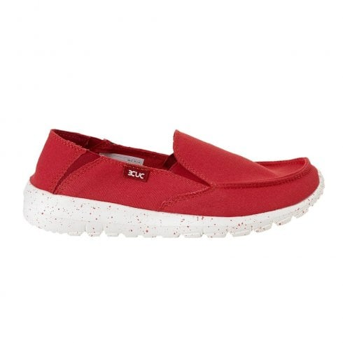 Hey Dude Women's  Ava Coral Ibiza Slip On Loafers