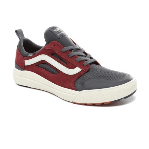 Vans Mens UltraRange 3D Low Top Sneakers - Ebony/Port