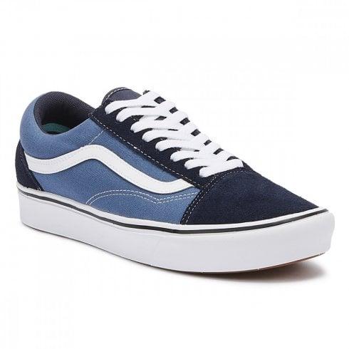Vans Unisex Comfycush Old Skool Sneakers - Navy/Stv Navy