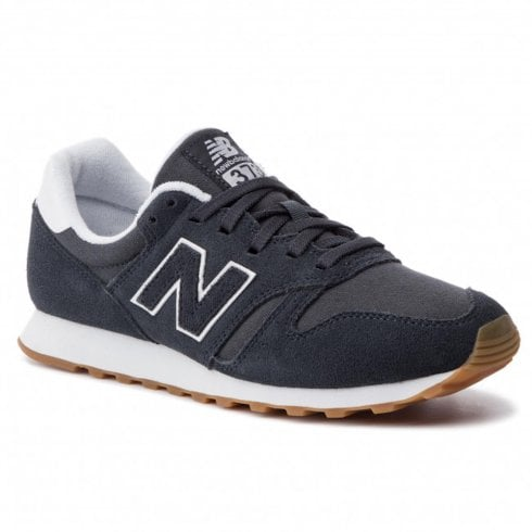 New Balance 373 Modern Classics Unisex Grey Suede Sneakers