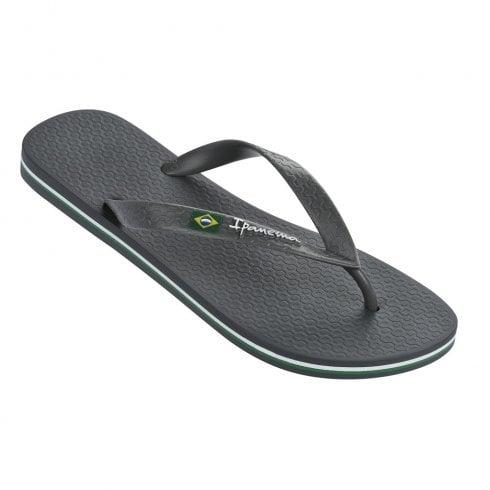 Ipanema Classic Brazil Mens Flip Flops Beach Pool Sandals Holiday Brown