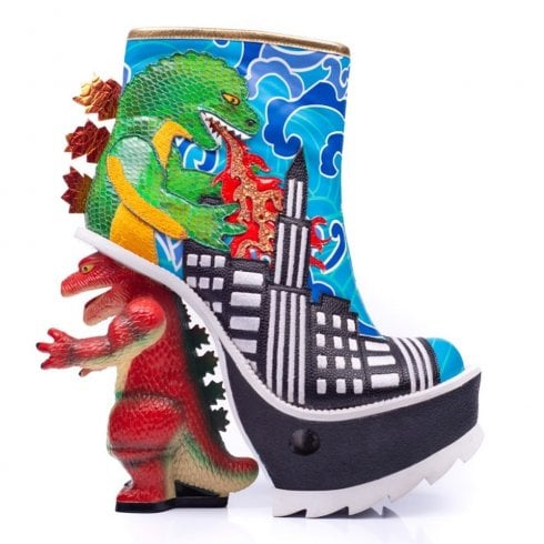 Irregular Choice Jurassotops Boot