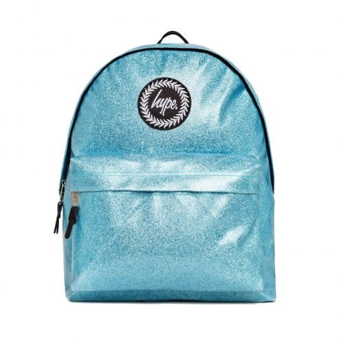 Hype Blue Glitter Backpack BTS19054