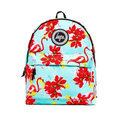 Hype Mint Red Flamingo Backpack BTS19041