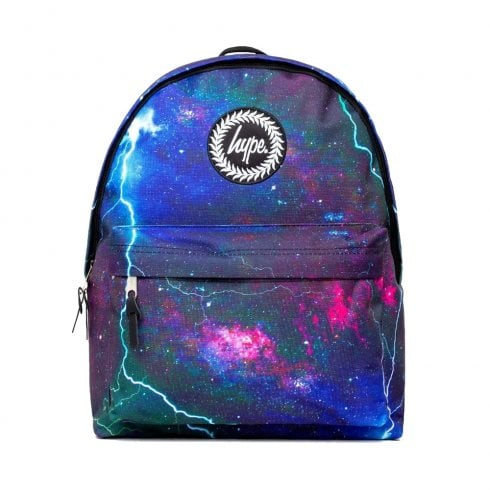Hype Navy Blue Space Storm Backpack BTS19063