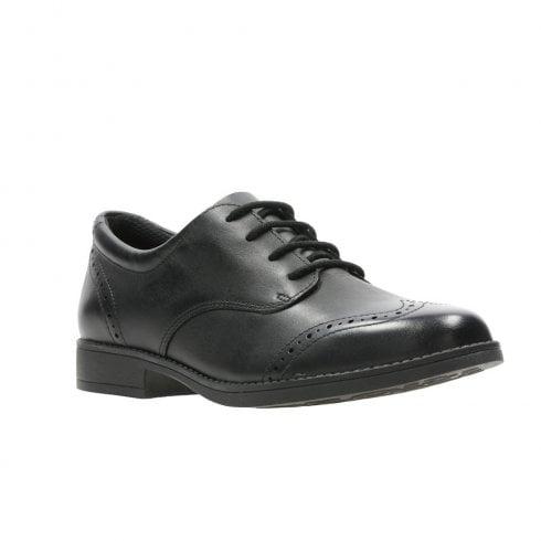 Clarks Girls Lace Up School Shoes Sami Walk