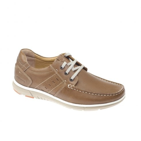 Dubarry Mens Bowie Lace Up Brown Leather Casual Shoes 4588