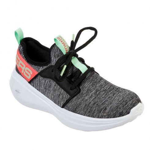 Skechers Womens GOrun Fast Lively Mesh Sneakers - 17617 Black/Grey
