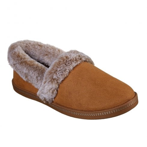 Skechers Womens Cozy Campfire Team Toasty Slippers - Chestnut Tan