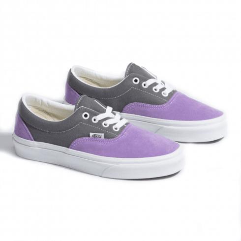 Vans Womens Retro Sport Era Low Trainers - Purple/Grey