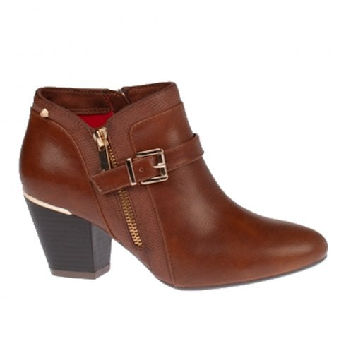 Kate Appleby Fairford Heeled Ankle Boots - Brown Fudge