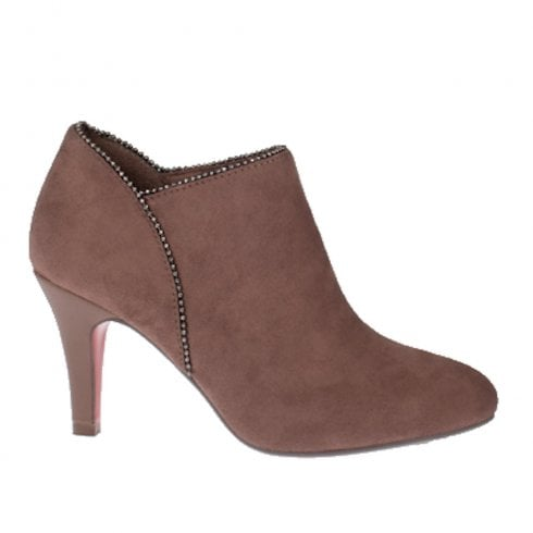 Kate Appleby Grimsby Heeled Ankle Boots - Mink Brown