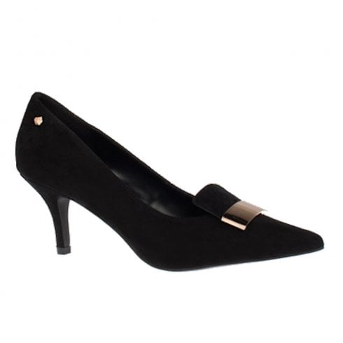 Kate Appleby Cromer Court Loafers High Heels - Black