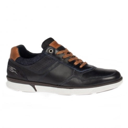 Lloyd & Pryce - Tommy Bowe Lloyd & Pryce Mens Larmour Deep Ocean Casual Lace Up Shoes