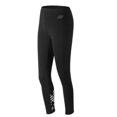 New Balance Womens Black Essentials Cotton Legging