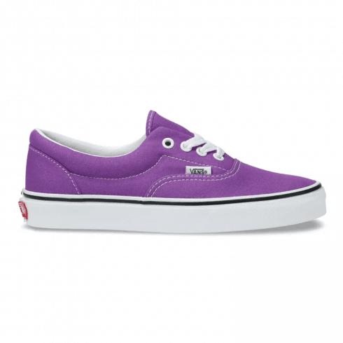 Vans Womens Era Purple Canvas Sneakers