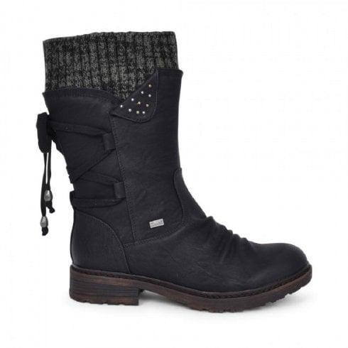 Rieker Womens (F Width) Mid-Calf Boots