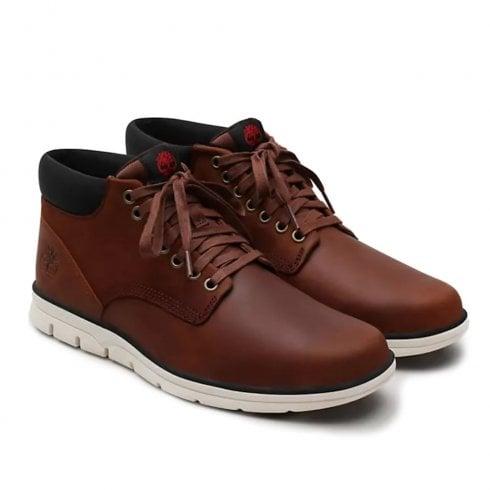 Timberland Mens Bradstreet Leather Chukka Brown Boots