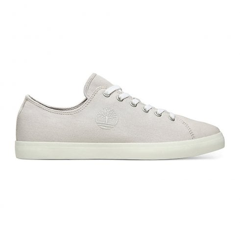 Timberland Grey Union Wharf Oxford Canvas Trainers