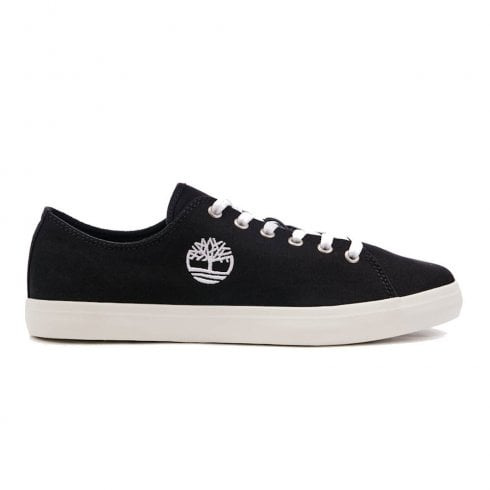 Timberland Mens Union Wharf Lace Oxford Jet Black Trainers