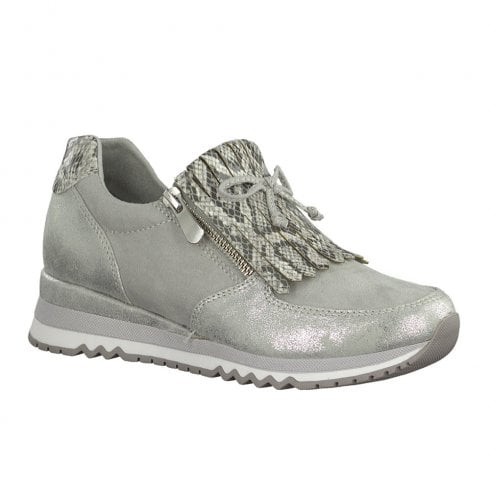 Marco Tozzi Womens Grey Comb Sneakers