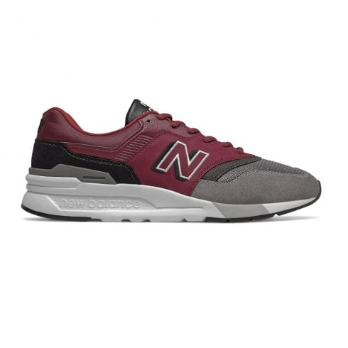 New Balance Men's Classics 997 Sneakers - Burgandy/Grey